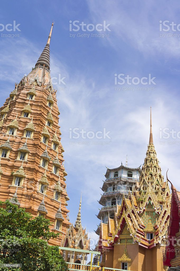 Stupas pagoda royalty-free stock photo