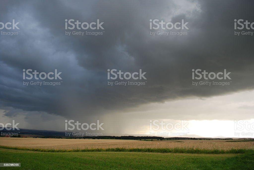 Sturmfront stock photo