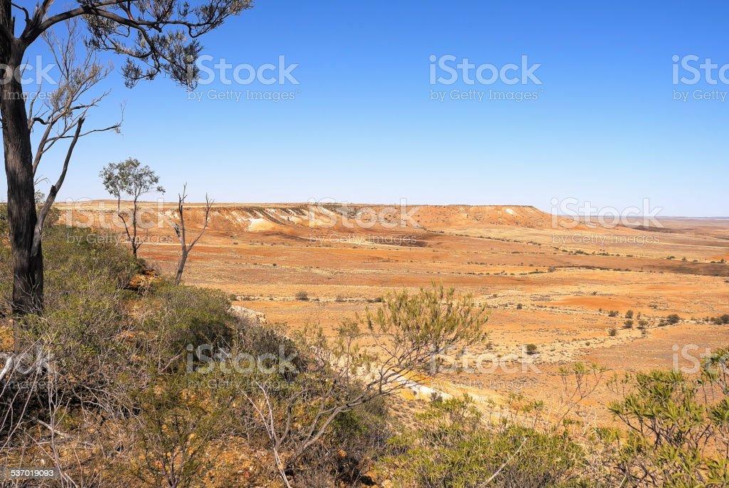Sturt National Park,Australia. stock photo