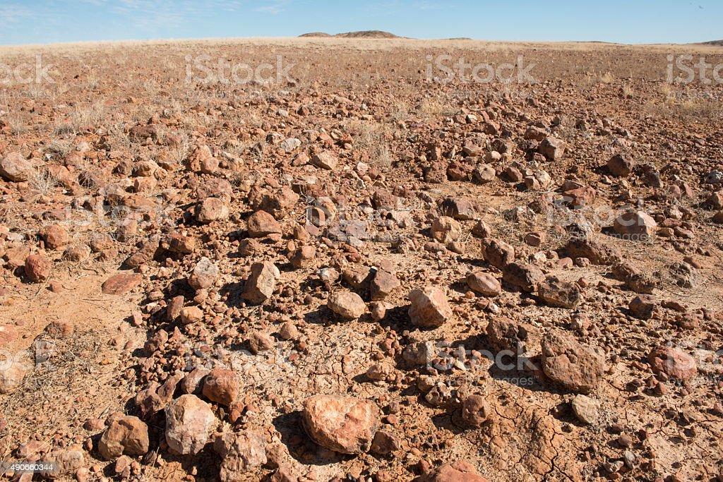 sturt stony desert stock photo