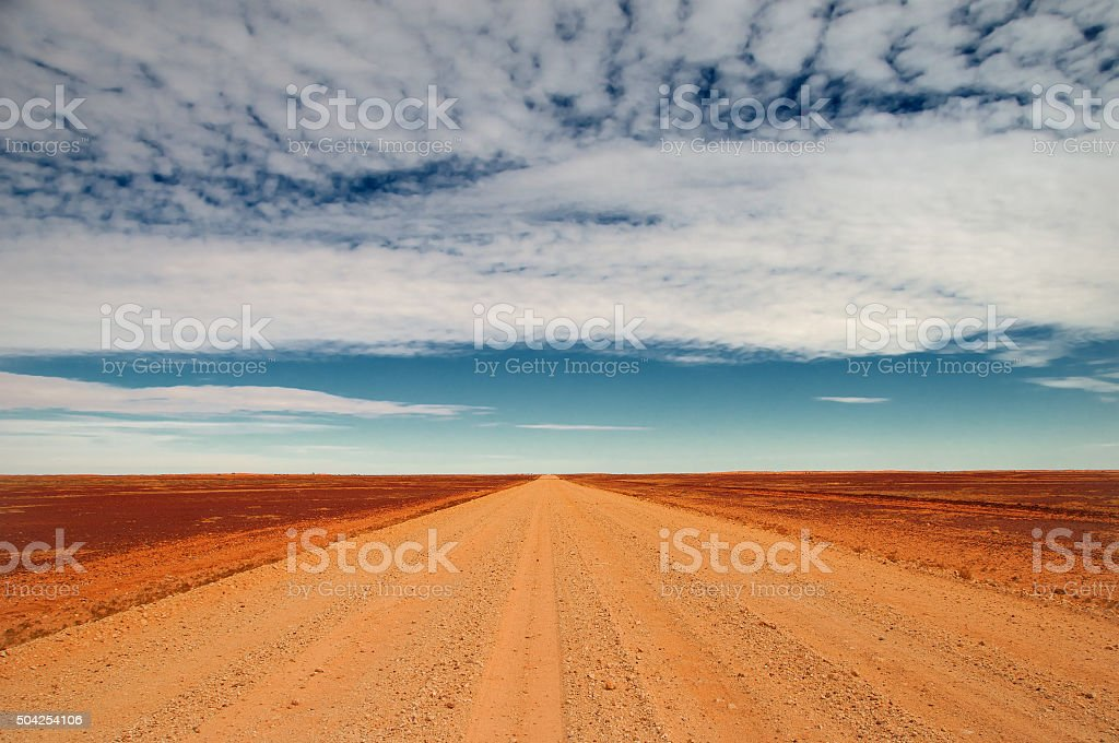 Sturt Stony Desert stock photo