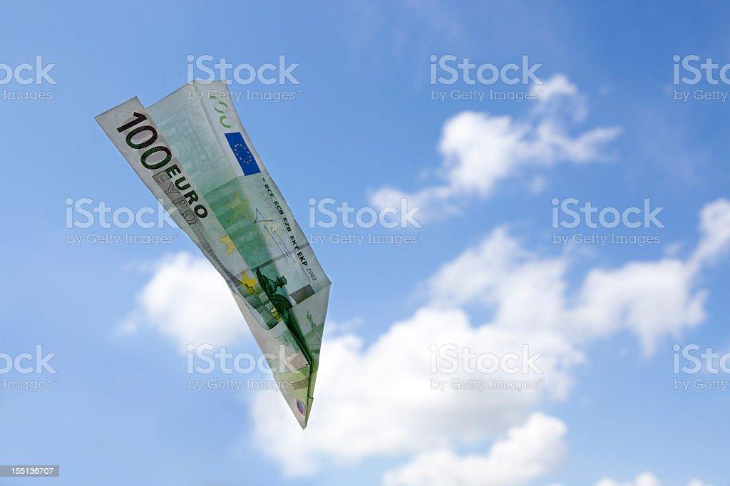 Sturzflug, Nosedive stock photo