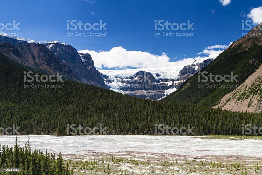 Stutfield Glacier stock photo