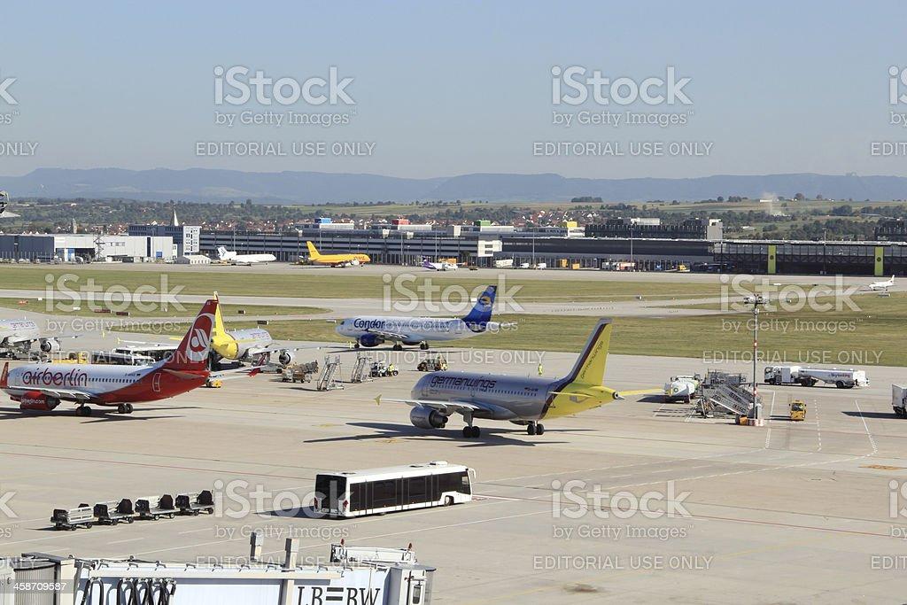 Stuttgart Airport royalty-free stock photo