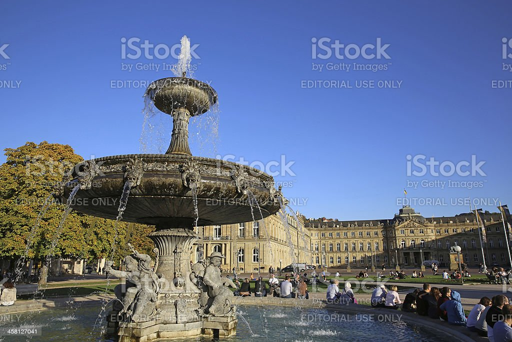 Stuttgart royalty-free stock photo