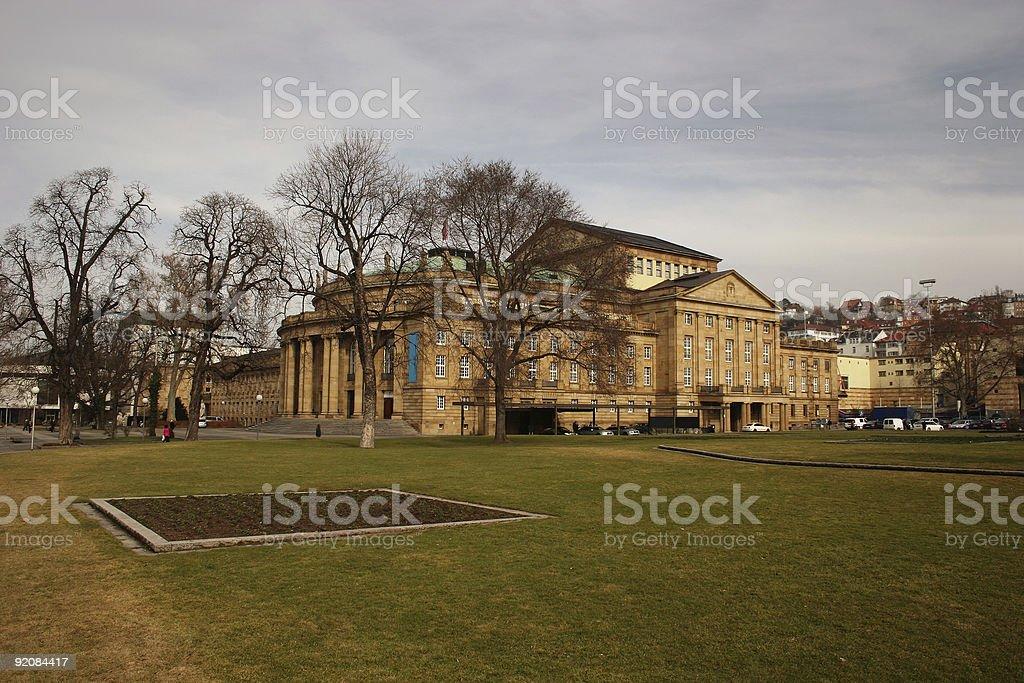 Stuttgart Staatstheater royalty-free stock photo