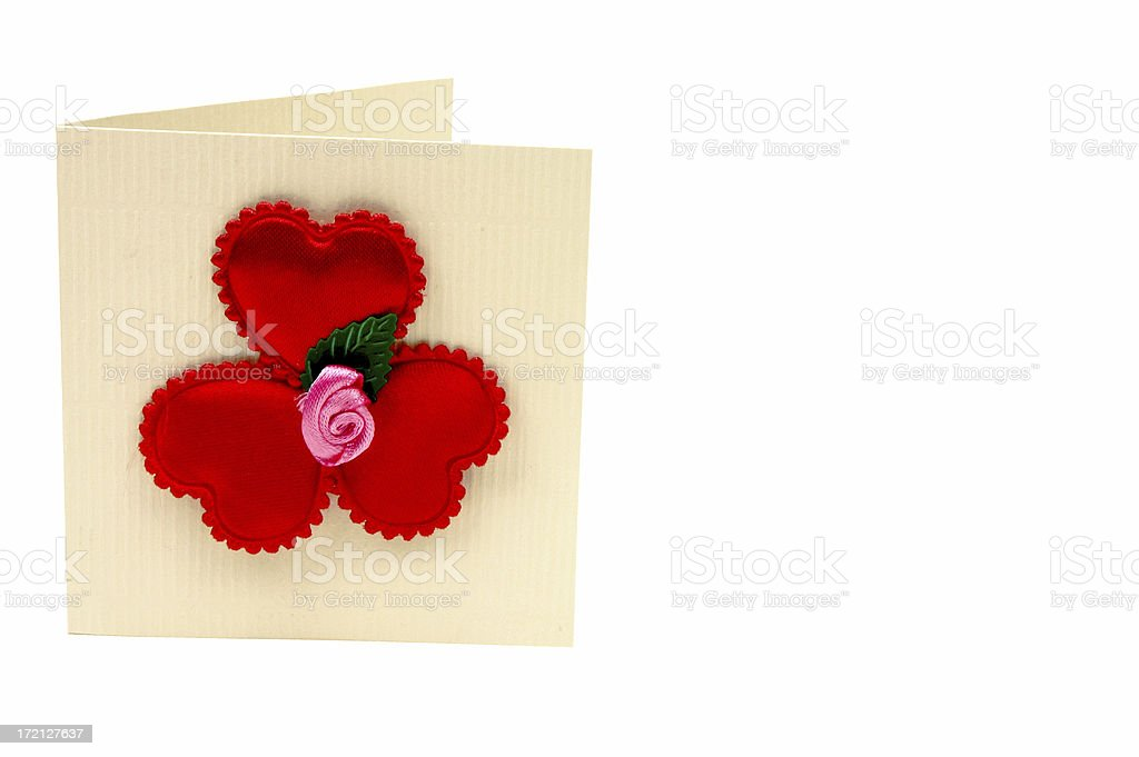 St.Valentines day greeting card royalty-free stock photo