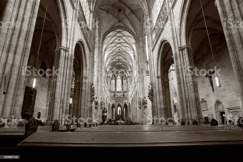 St.Vitus cathedral royalty-free stock photo