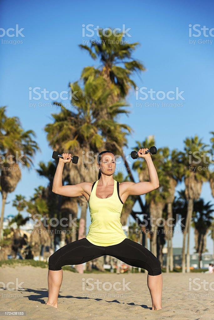 Style and fitness royalty-free stock photo
