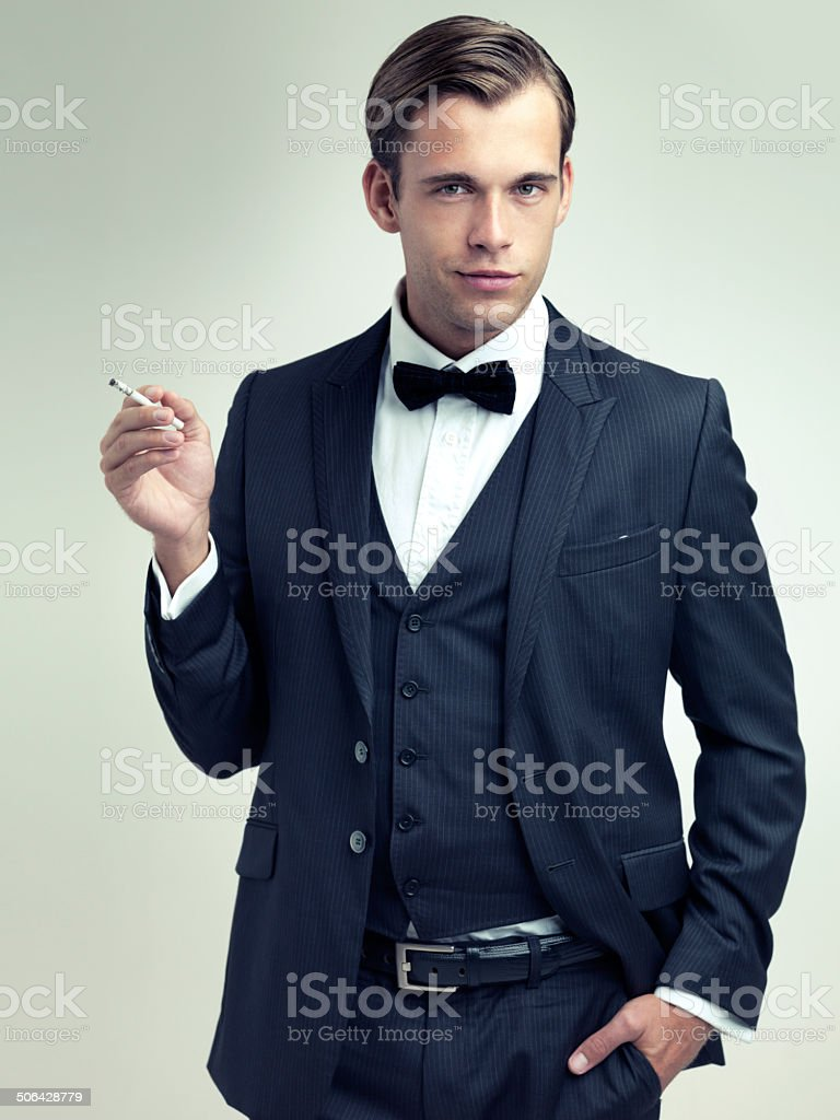 Style is an accessory to substance royalty-free stock photo