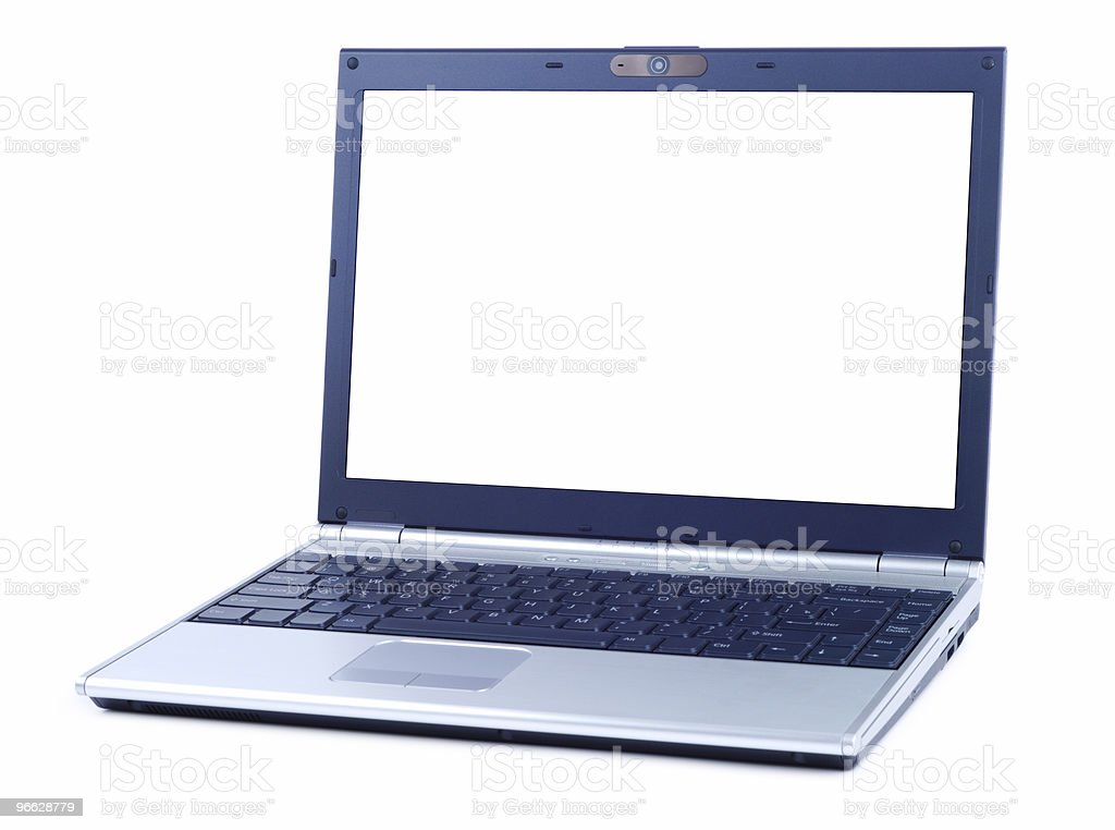 Style Laptop royalty-free stock photo