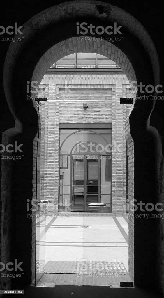 Style of Passages stock photo