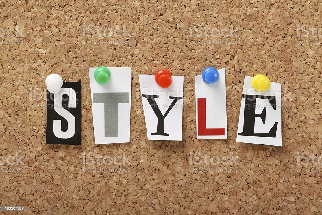 Style royalty-free stock photo