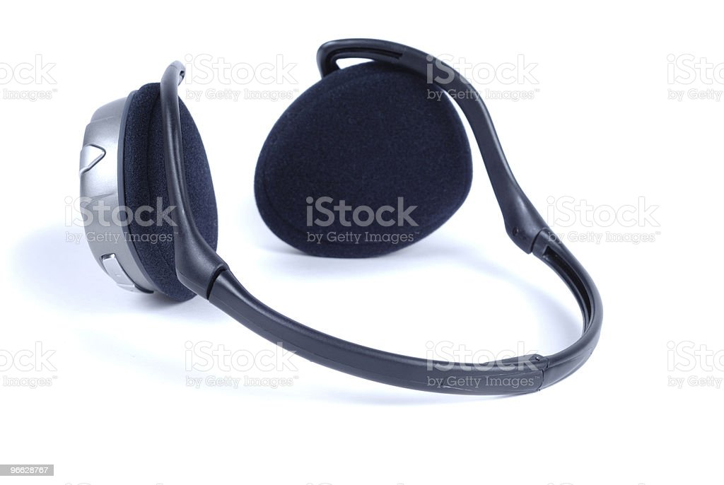 Style Stereo Phones royalty-free stock photo