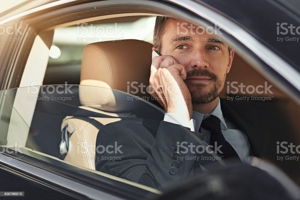 Style that commands respect stock photo