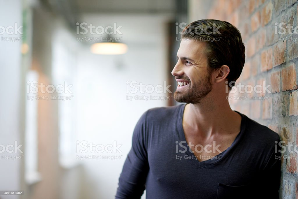 Style with a smile stock photo