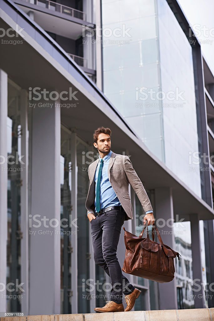 Styled for success stock photo