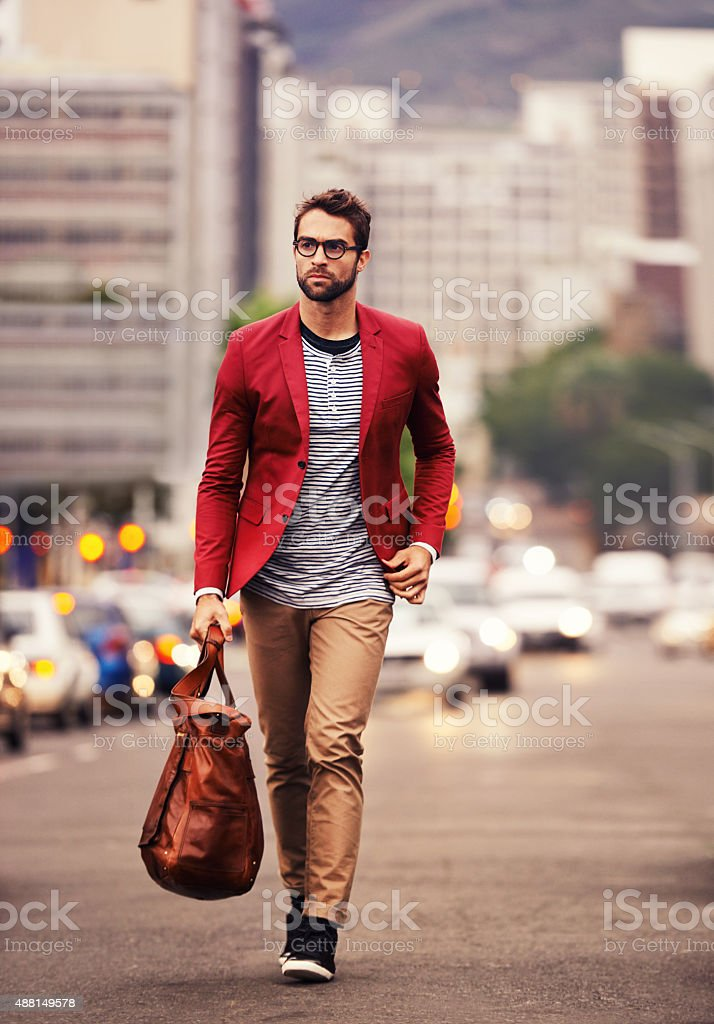 Styled for the city stock photo