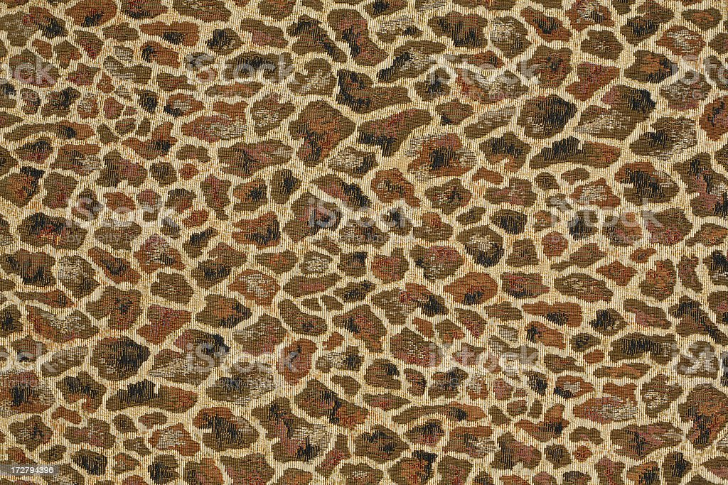 Stylised Giraffe skin print stock photo