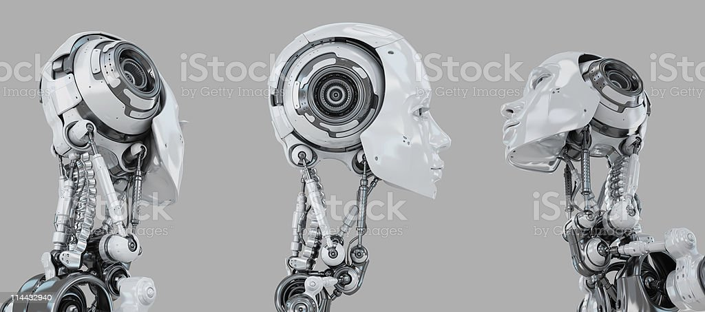 Stylish 3d character stock photo