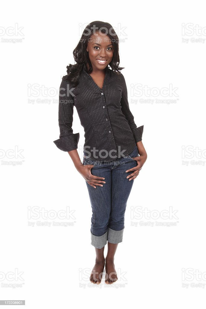 Stylish African American Woman stock photo