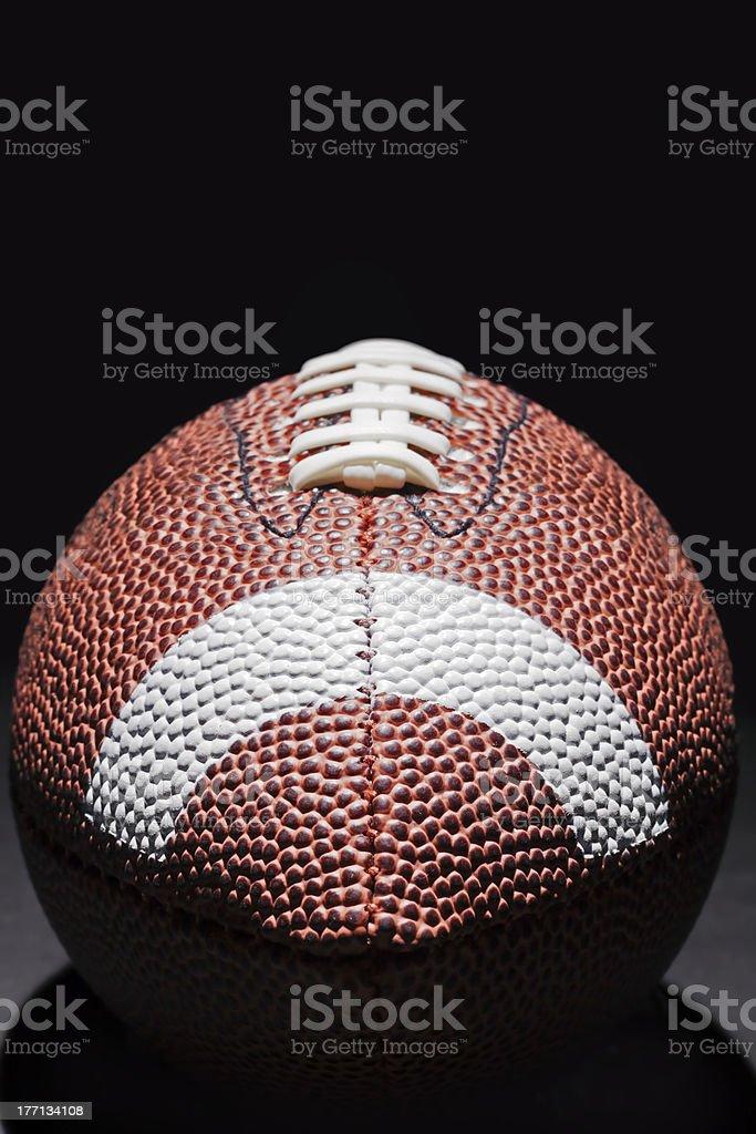 Stylish American Football royalty-free stock photo
