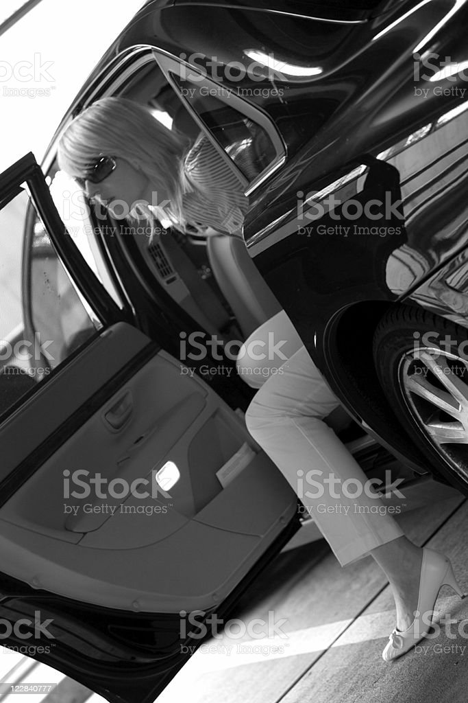stylish arrival royalty-free stock photo