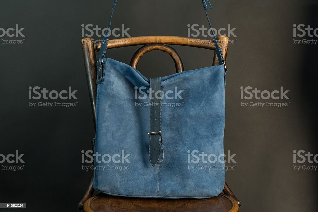 Stylish bag stock photo