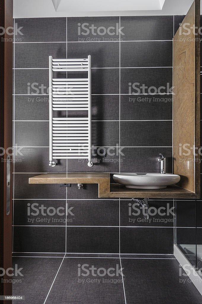 Stylish Bathroom royalty-free stock photo
