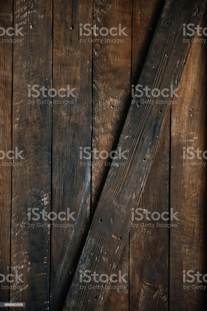 Stylish brown wooden background stock photo