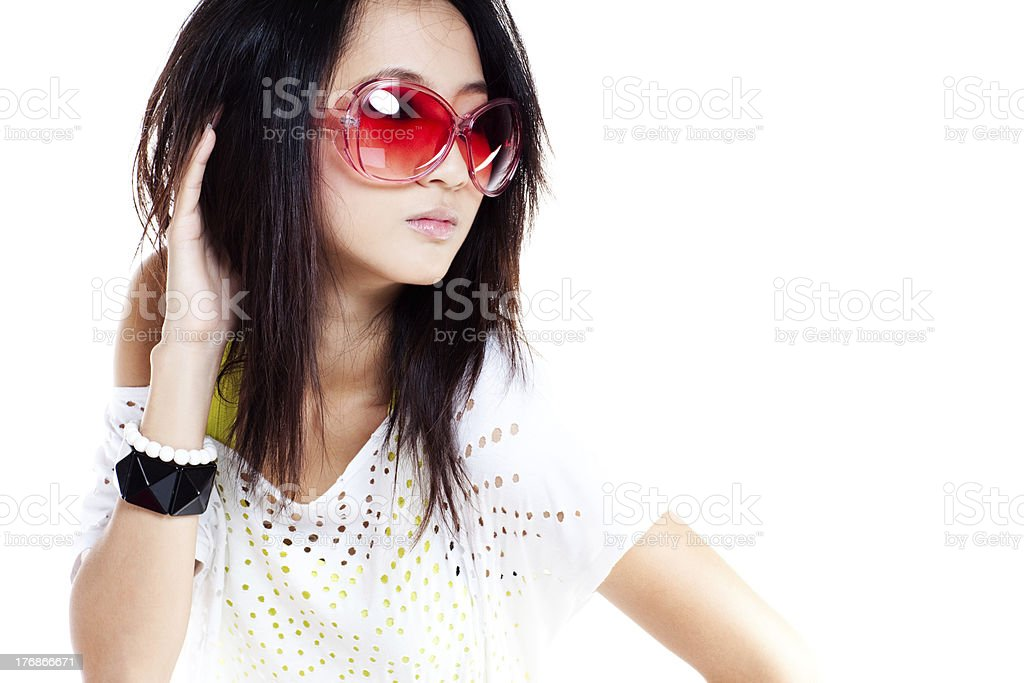 Stylish Girl royalty-free stock photo