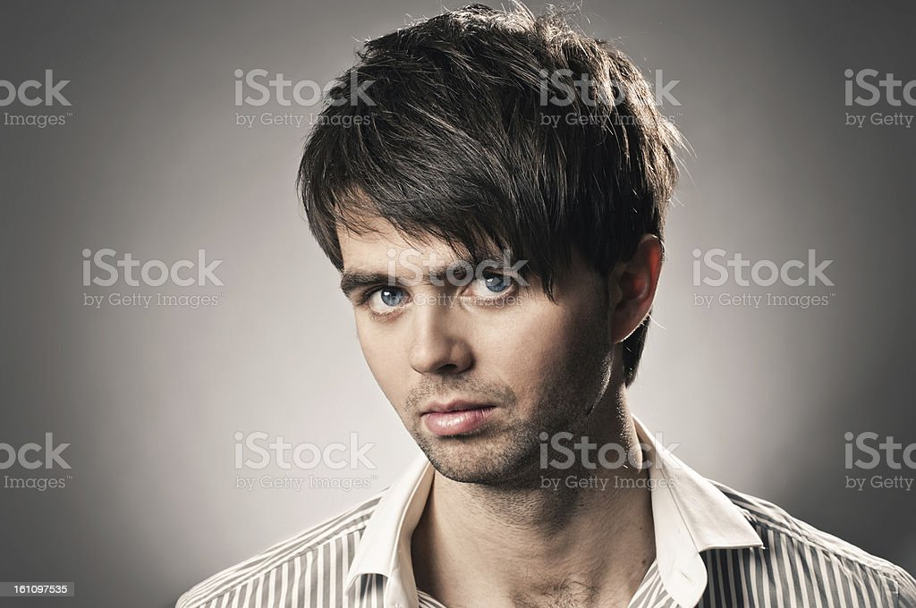 stylish guy royalty-free stock photo