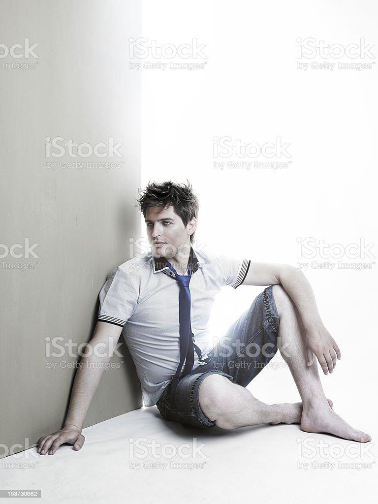 Stylish handsome man royalty-free stock photo