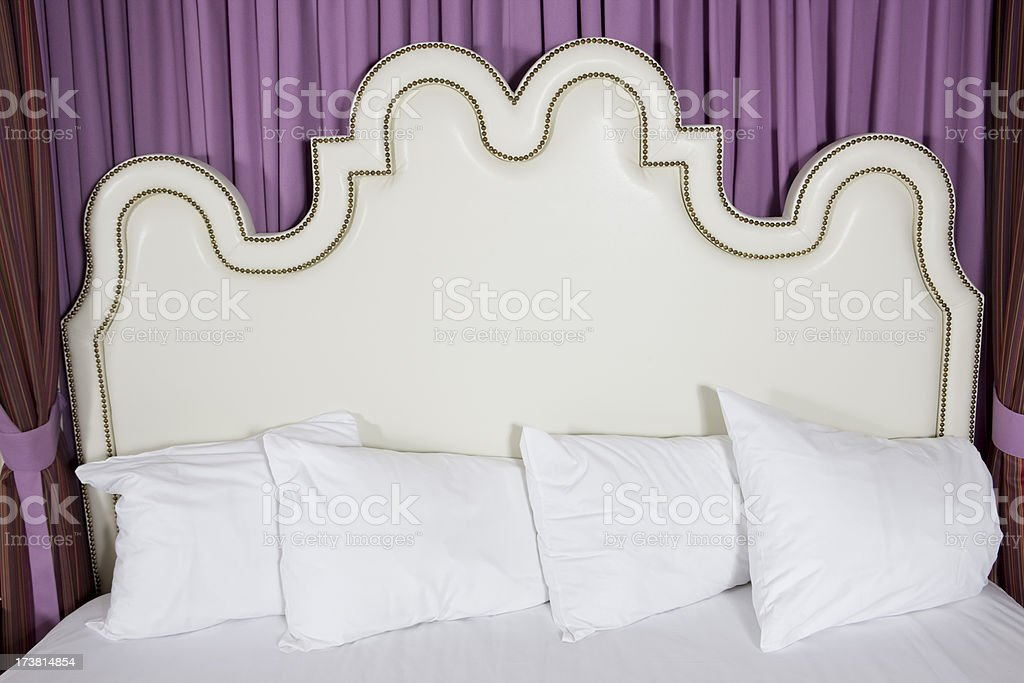 Stylish Headboard royalty-free stock photo