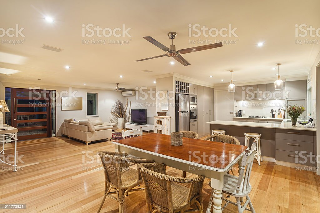 Stylish home interior stock photo