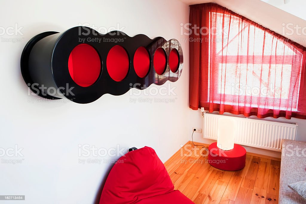 Stylish interior royalty-free stock photo