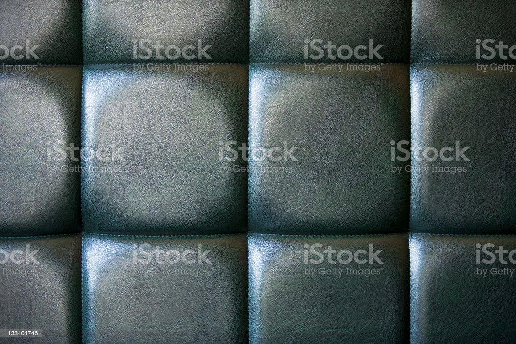 Stylish leather upholstery royalty-free stock photo
