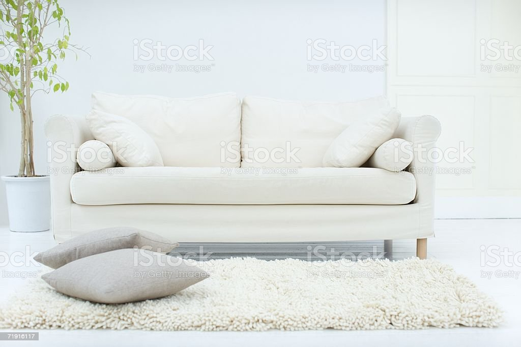 Stylish living room stock photo