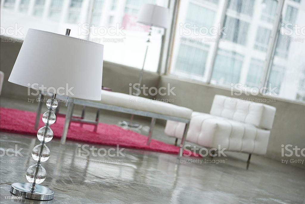 stylish livingroom royalty-free stock photo