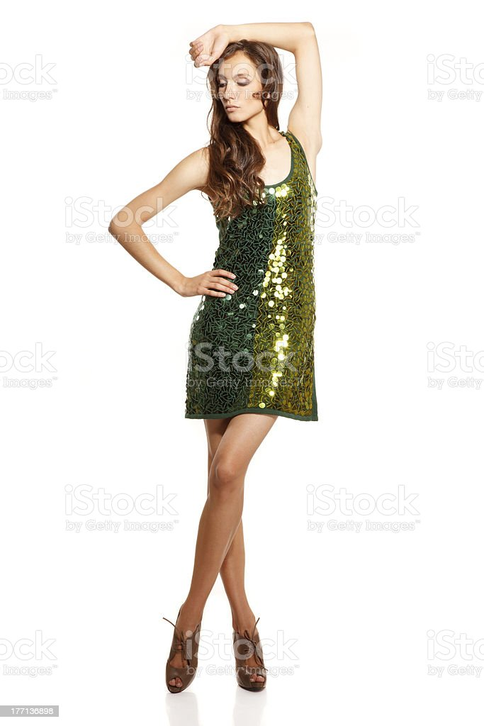 Stylish look royalty-free stock photo