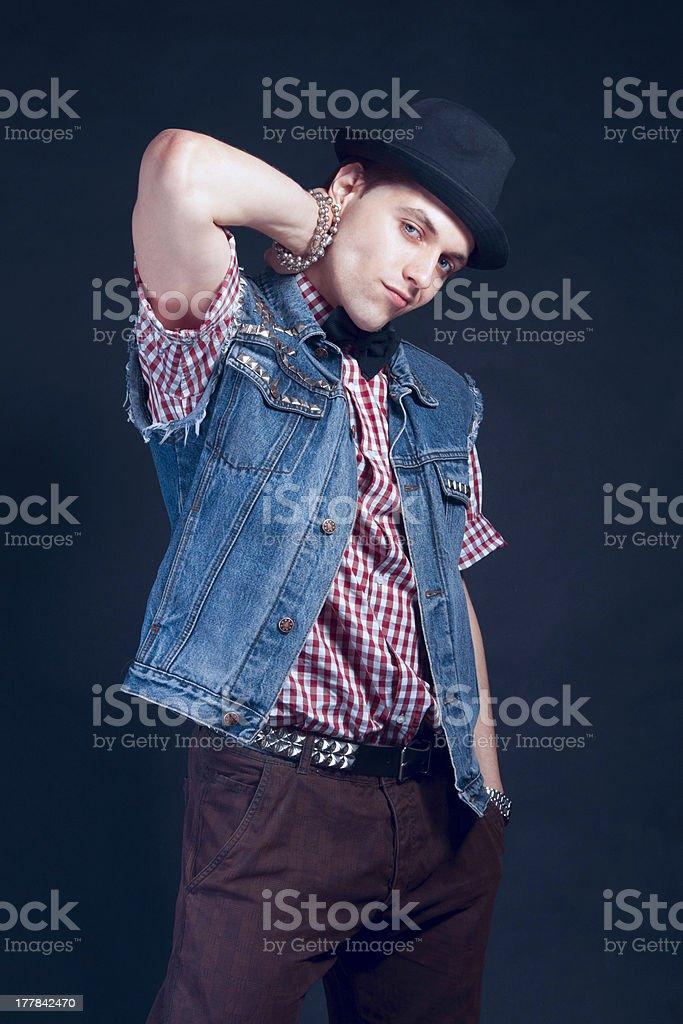 Stylish Man royalty-free stock photo