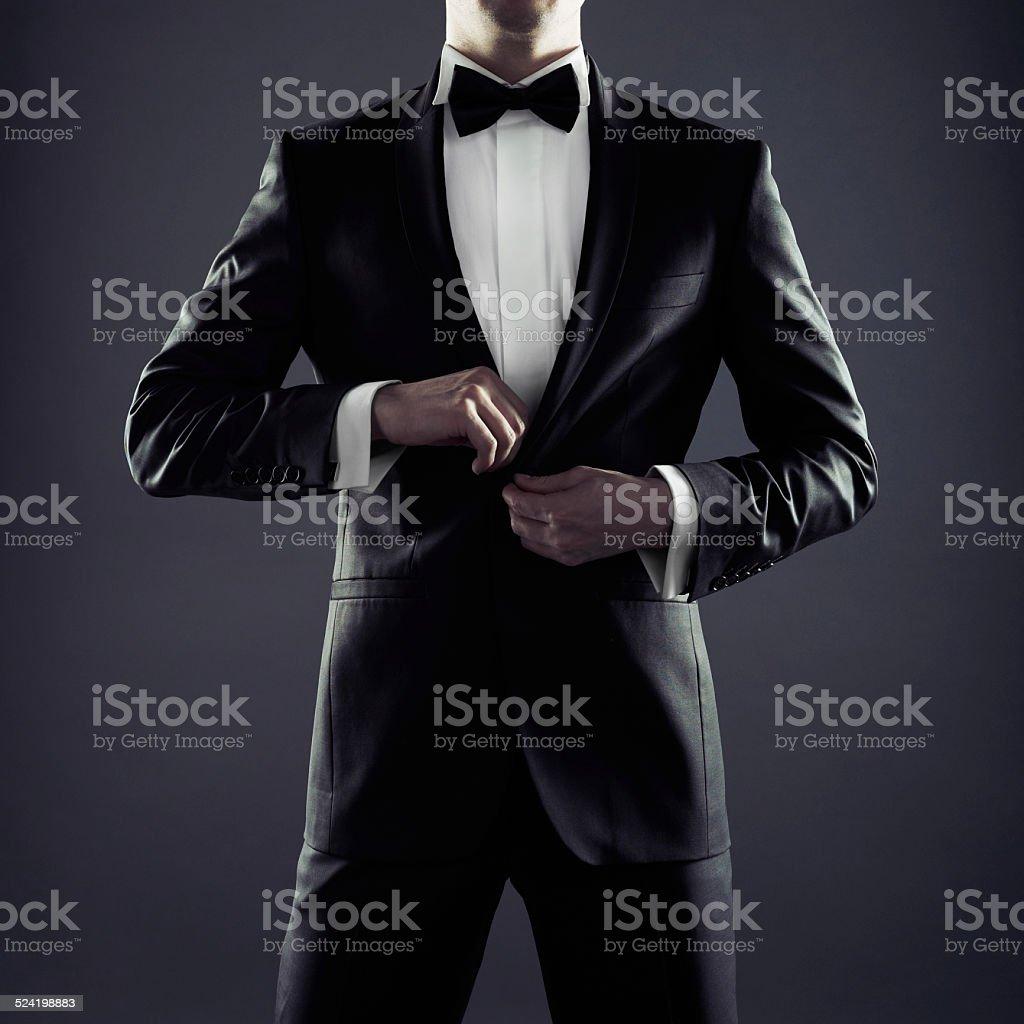 Stylish man stock photo