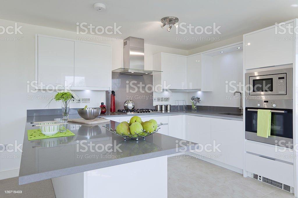 Stylish modern kitchen royalty-free stock photo