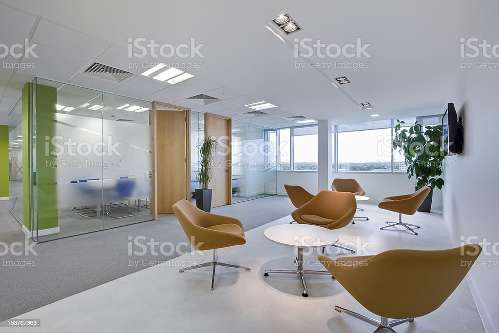 Stylish modern office stock photo