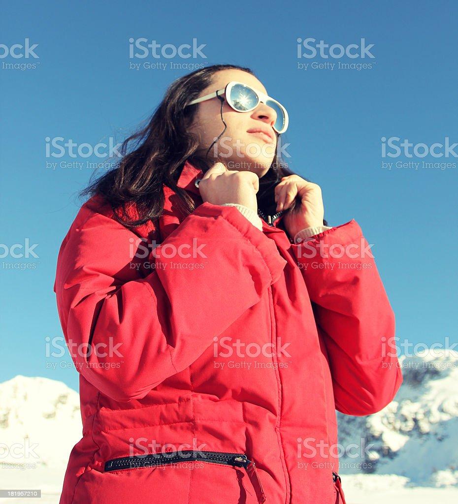 Stylish Mountain royalty-free stock photo