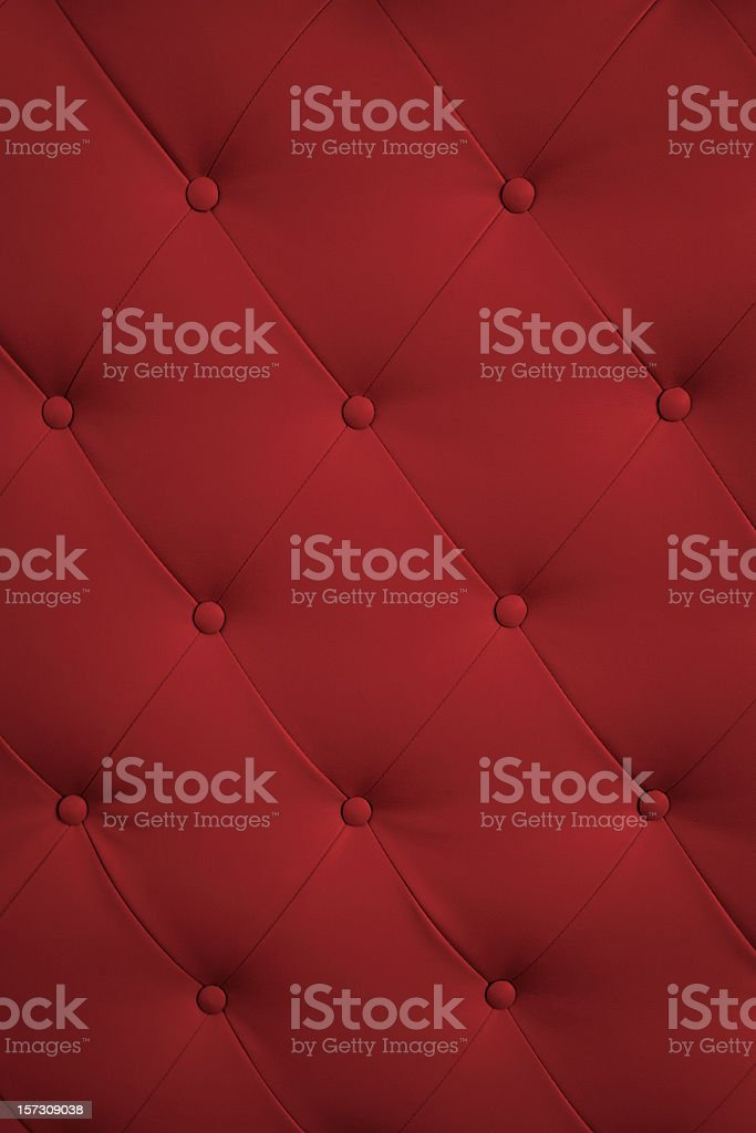 Stylish red upholstery royalty-free stock photo