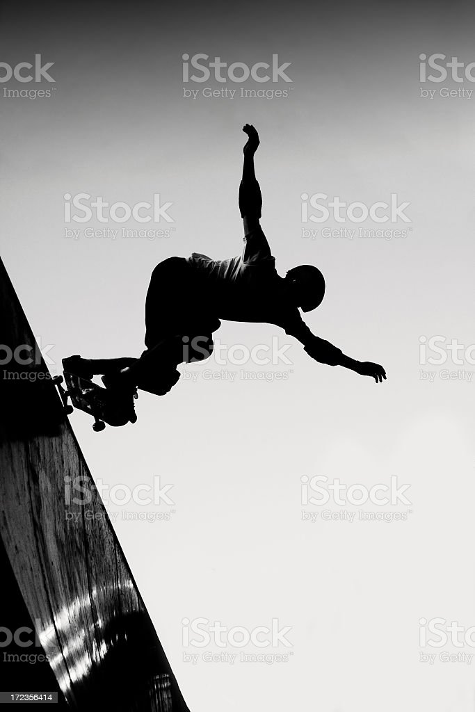 Stylish Skateboarder royalty-free stock photo
