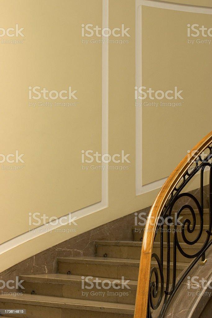 Stylish stairs royalty-free stock photo