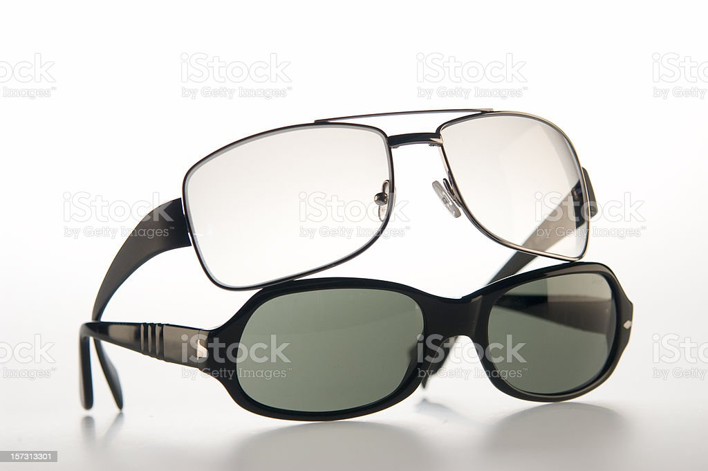 stylish sunglasses stock photo