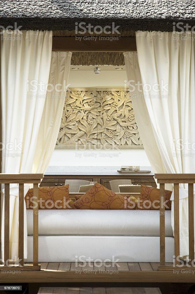 stylish veranda royalty-free stock photo